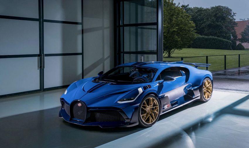 Chiếc Bugatti Chiron Divo cuối cùng
