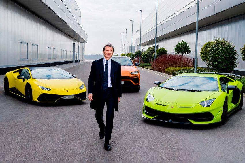 doanh số Lamborghini