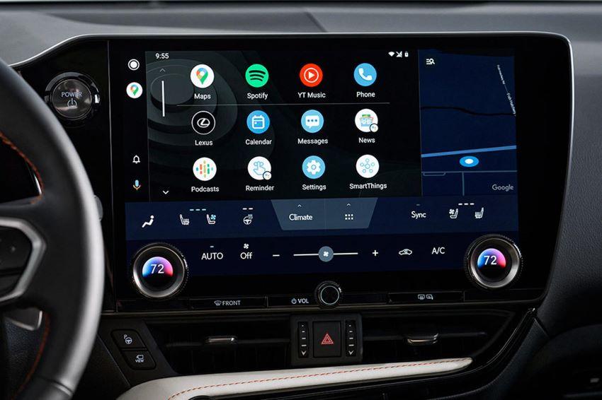 Giao diện Lexus mới