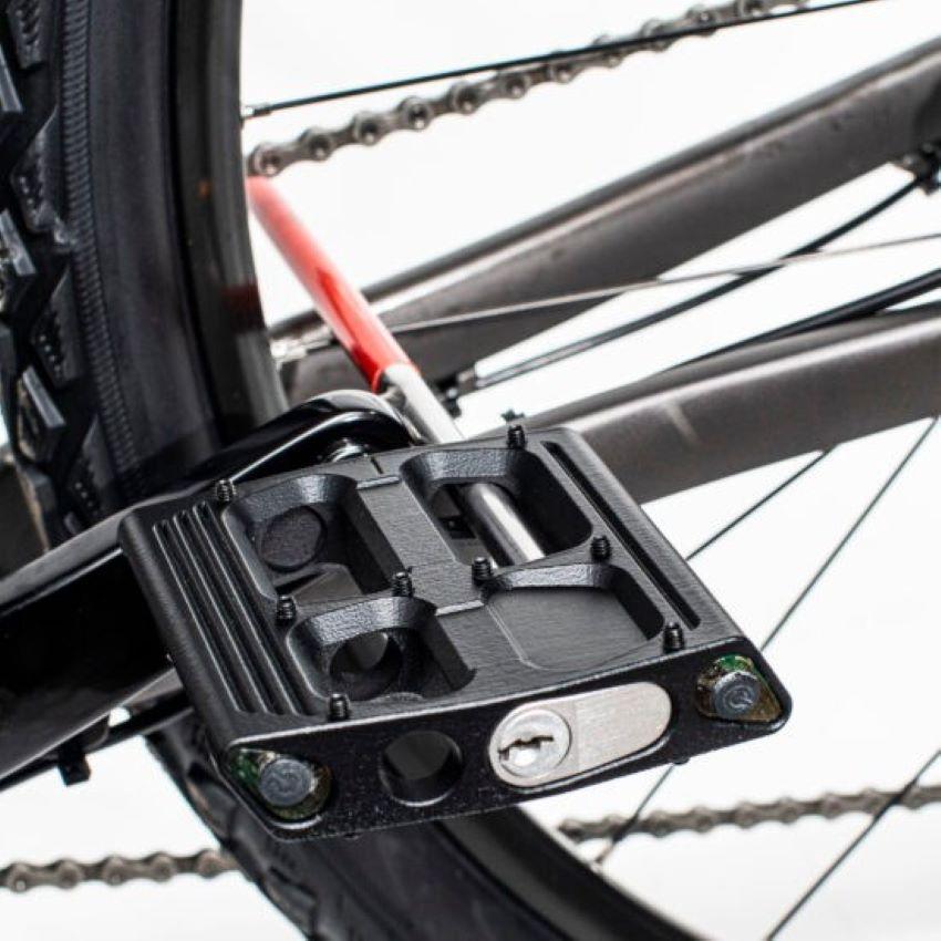 Bàn đạp xe chống trộm