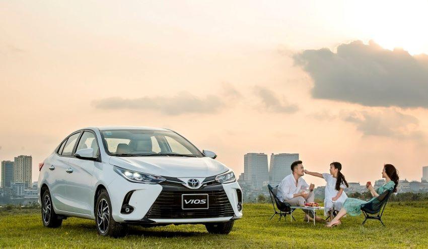 ưu đãi Toyota Vios