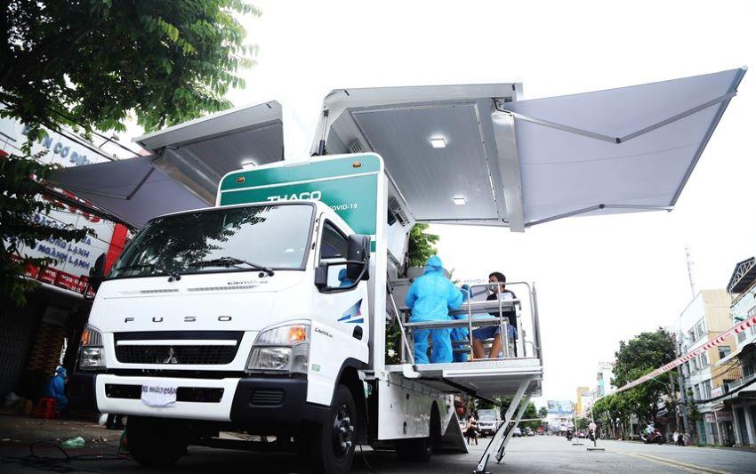 Xe cứu thương Thaco