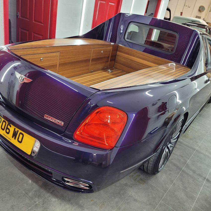 Xe bán tải Bentley