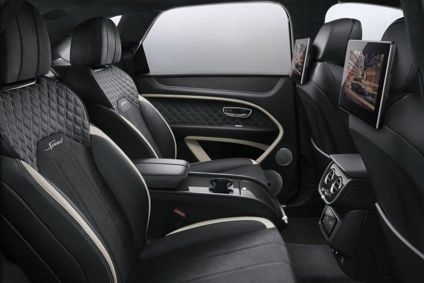 Hệ thống giải trí mới cho hàng ghế sau Bentley