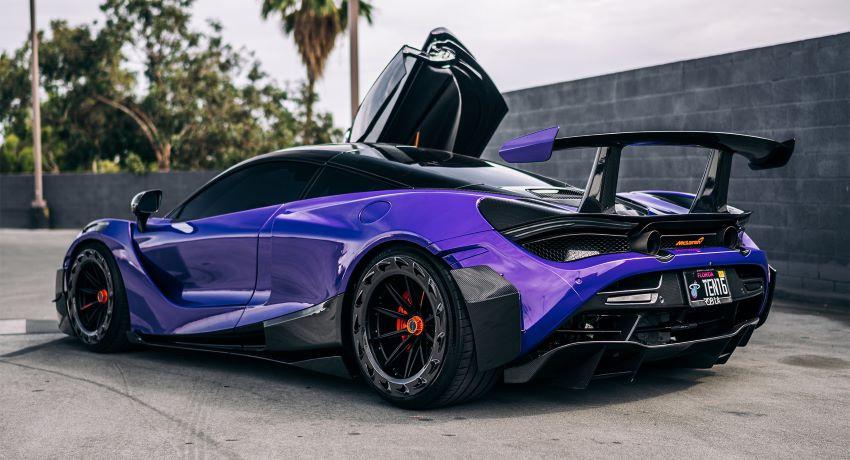 McLaren 720S tím