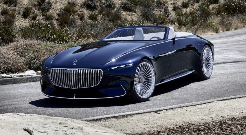 Mercedes-AMG điện mui trần