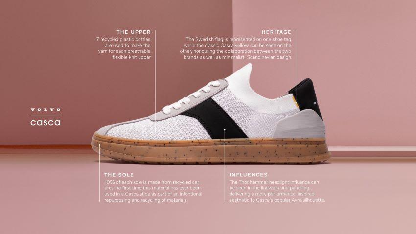 Đôi giày Volvo Casca