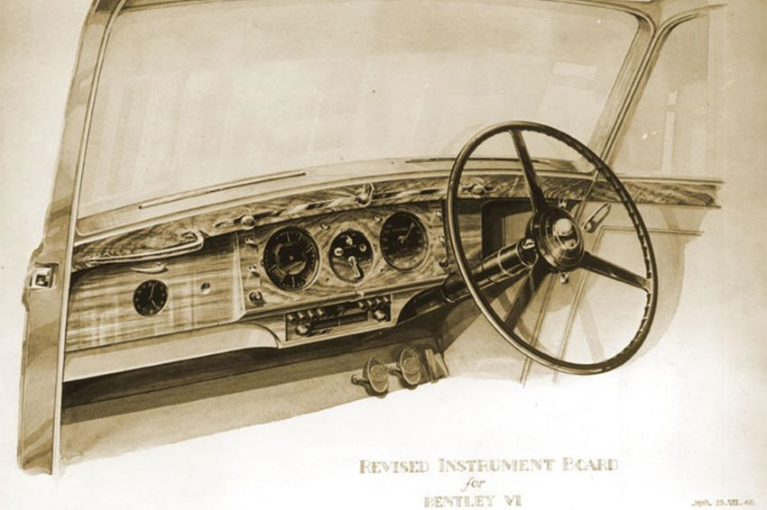 Bộ phận thiết kế Bentley