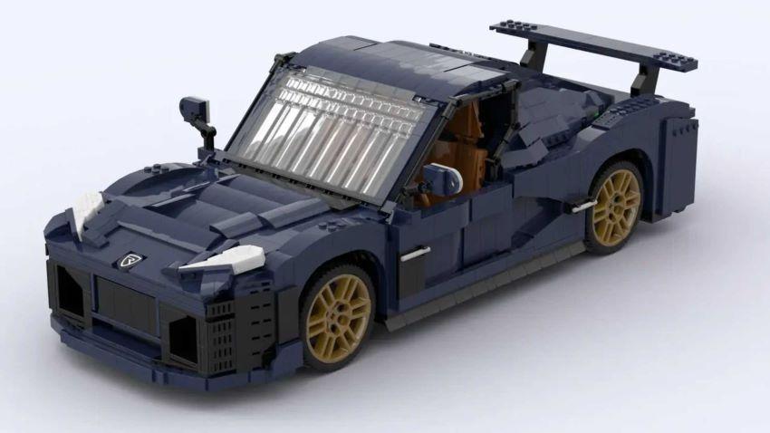 Rimac Nevera Lego