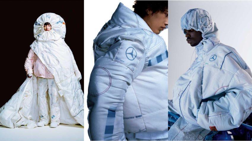 Thời trang túi khí Mercedes-Benz