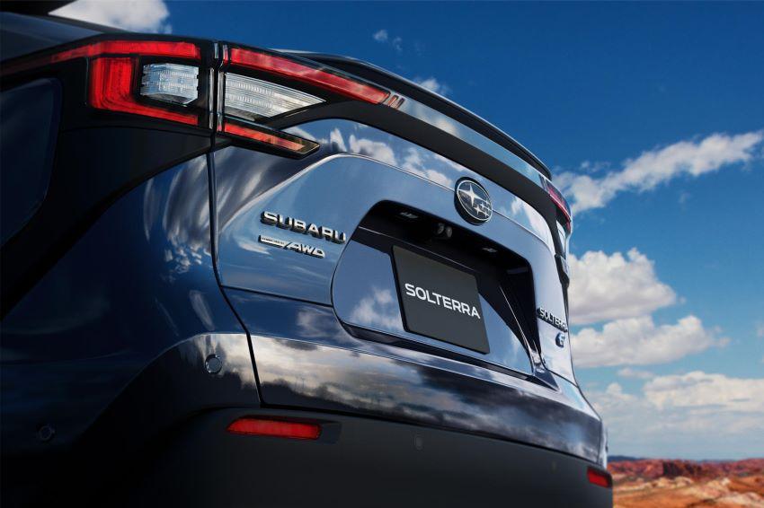 Xe điện Subaru Solterra