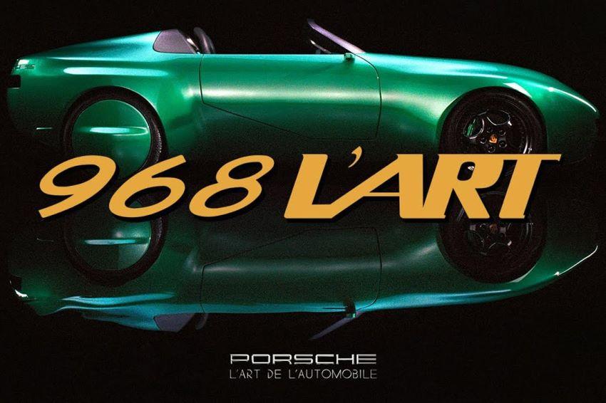 Porsche 968 phiên bản L'ART