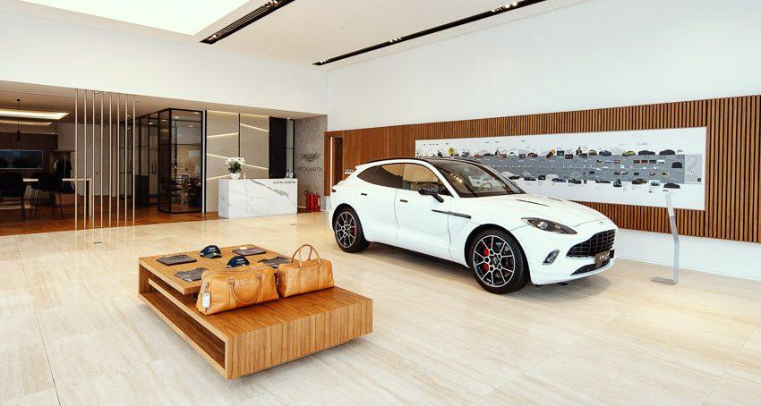 Đại lý 3S Aston Martin