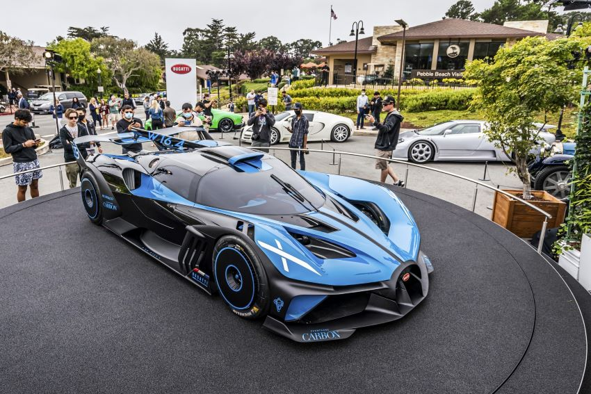 Bugatti Bolide đẹp nhất thế giới
